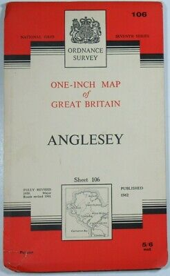 1966 Old Vintage Bartholomew's Half-Inch Countoured CLOTH Map 6 Sussex Bartholomew Maps 3